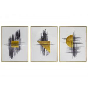 LTZ-19080051/52/53 Slim  Frame Art Set of 3