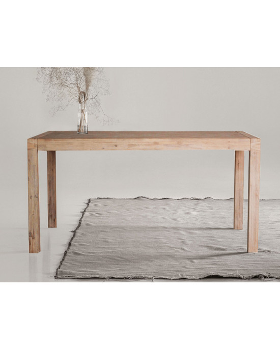 Java 2.2m Dining Table Only Acacia Wood