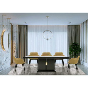 Luxe 2.1m Dining Table