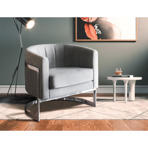Nori Occasional Chair Grey