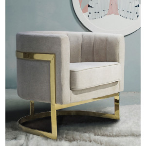 Nori Occasional Chair Beige