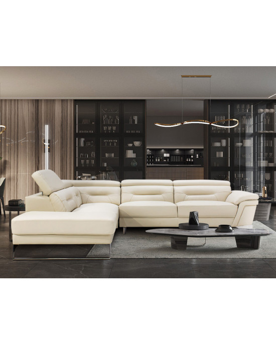 Santorini Corner Couch Cream