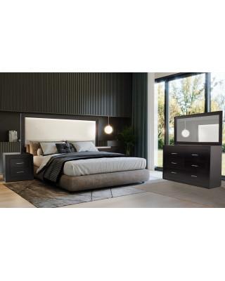 Norway 3pce Bedroom Stained Dark Mahogany