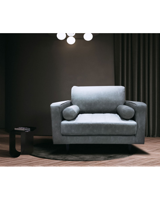Teresa 1 Div Couch Grey