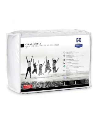 King Size Sealy Clean Shield Quilted Mattress Protector