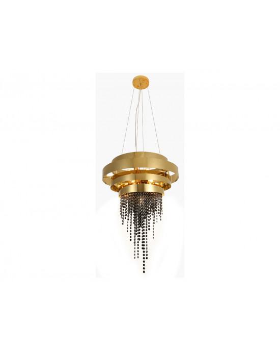 LIT0035-12 Golden Chandelier