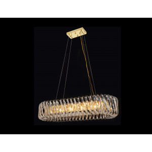 LIT78109-10L Golden Chandelier