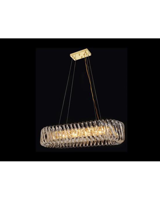 LIT78109-10L Golden Chandelier