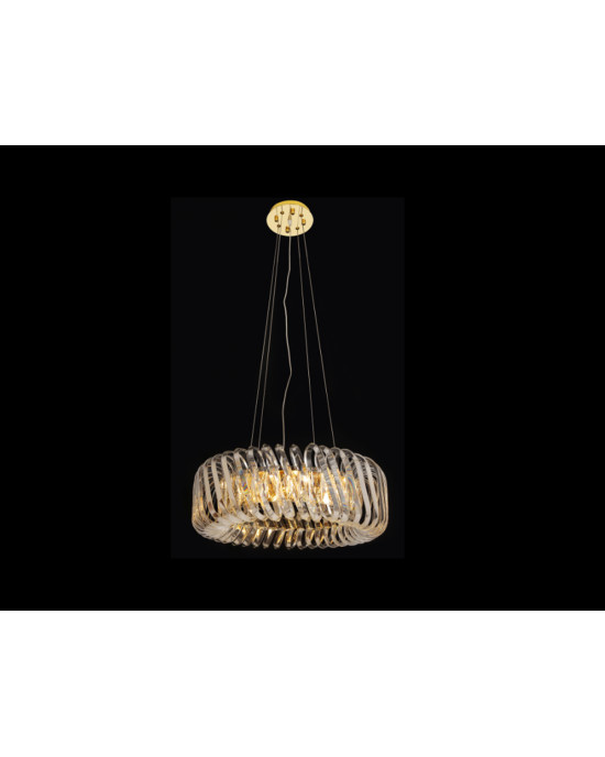 LIT78109-4 Golden Chandelier