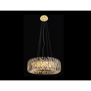 LIT78109-8 Golden Chandelier