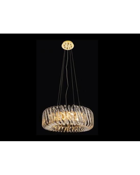 LIT78109-8 Golden Chandelier