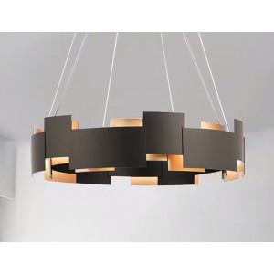 LIT89043-6 Black & Golden Chandelier