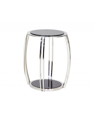 583 3pce Side Table Silver