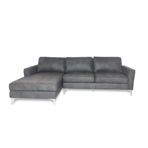 Aura Corner  Suite Dark Grey