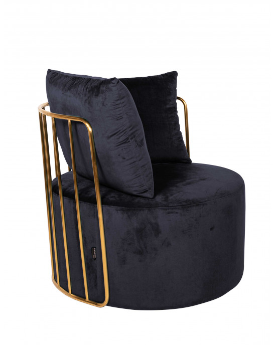 Azania Leisure Chair Gold Frame