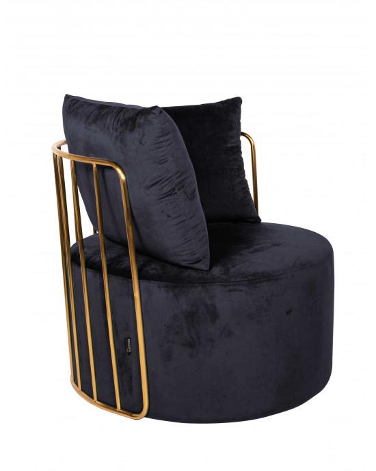 Azania Leisure Chair Gold Frame