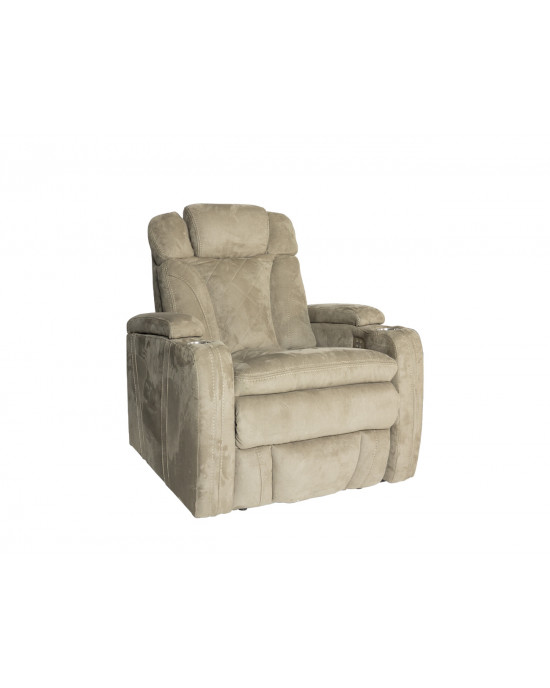 Bentayga Cinema Electric Motion Chair Nappa Stone 2 Arm