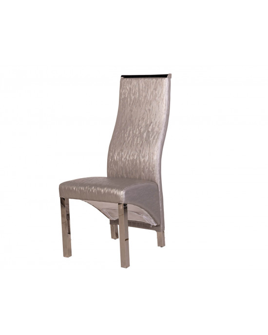 Chanel Dining Chair  Grey
