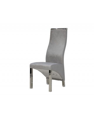 Chanel Dining Chair Light Grey