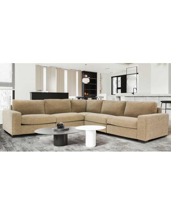 Domino Corner Lounge Suite Beige