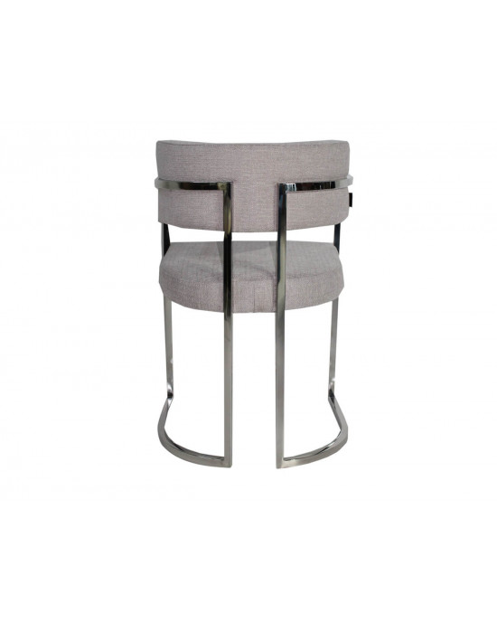 Enzo Dining Chair Light Grey
