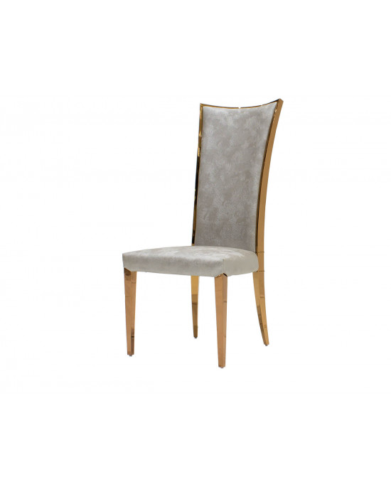 Gucci Dining Chair Champagne With Rose Gold
