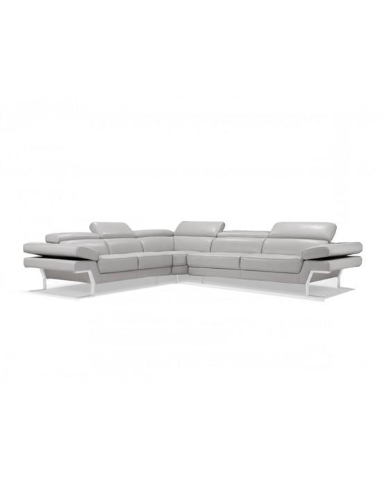 Jovia Corner Suite Light Grey