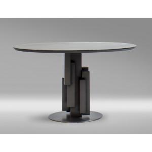 Apollo MK12-05 Dining Table Black Oak