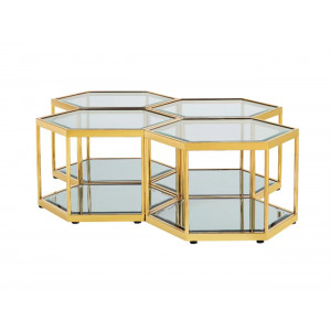 Lexy MK-21-05 Coffee Table Gold