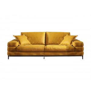 Maldini 3 Div Couch - Yellow