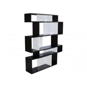Ovo 114K Bookshelf Black and White
