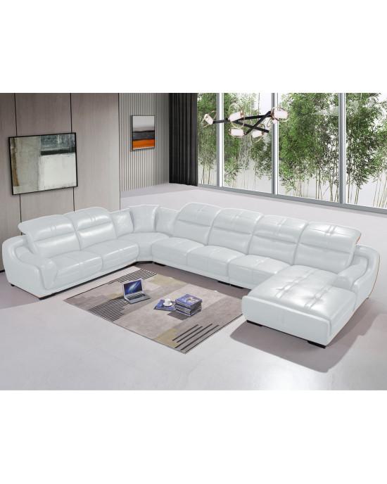 Piero Corner Lounge Suite White