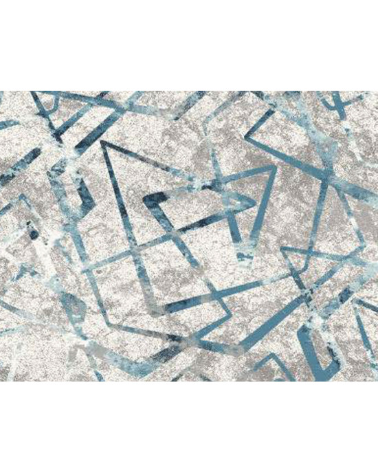Supersoft Rug 5291A White/Turquoise