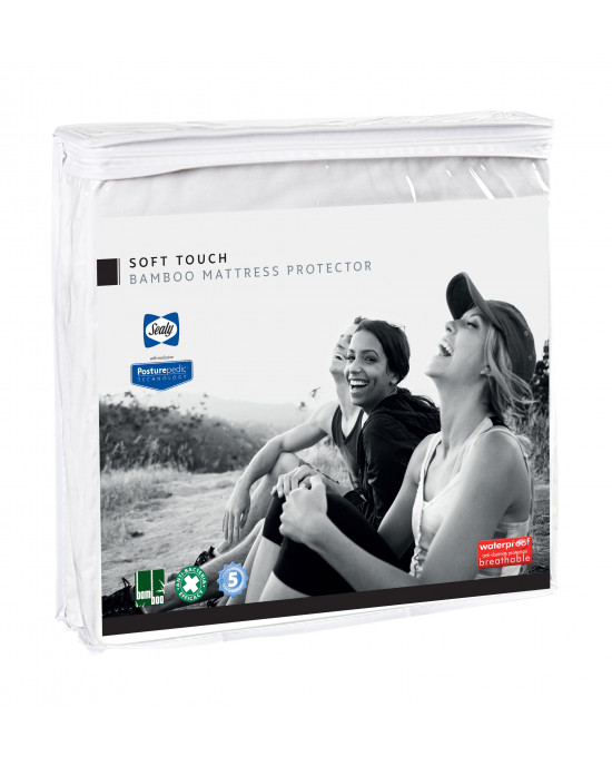 Sealy Soft Touch Bamboo Mattress Protector