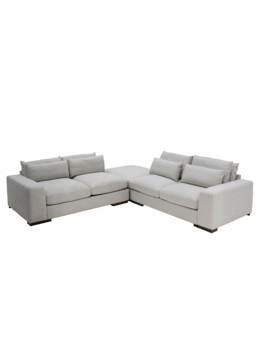 Berlin Sectional Lounge Suite Grey