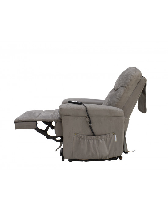 Lift Up Recliner Chair Taupe