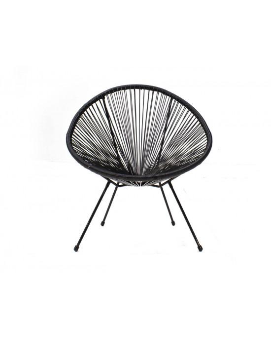 Luna Outdoor Chair Black