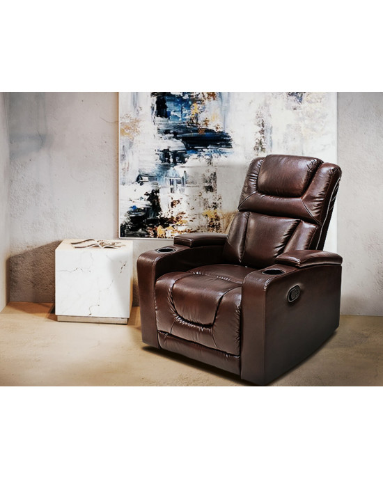Misty 9336 Single Recliner Chair Brown