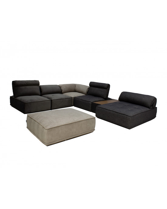 Zenith KF2083 7pce Sectional Lounge Suite