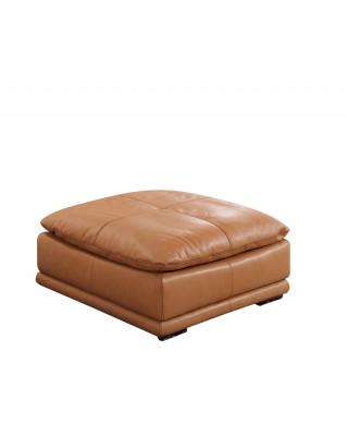 Granada Full Genuine Leather Ottoman