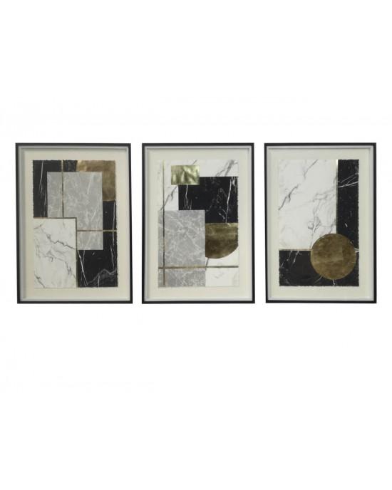 LTC-19020016/17/18 Set Of 3 Framed Wall Art