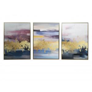 LTV-18110009/10/11 Set Of 3 Framed Wall Art