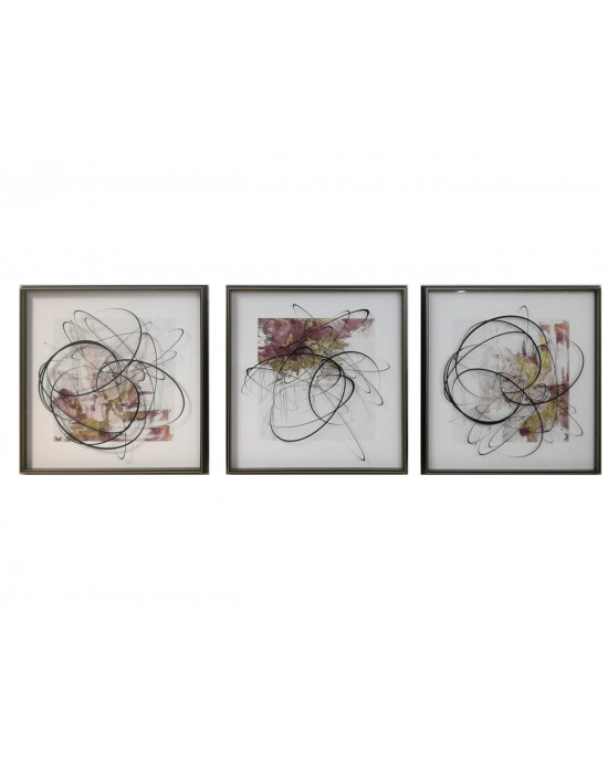LTY-1908118/19/20 Set Of 3 Framed Wall Art