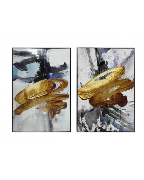 LTY-18010139/40 Set Of 2 Framed Wall Art