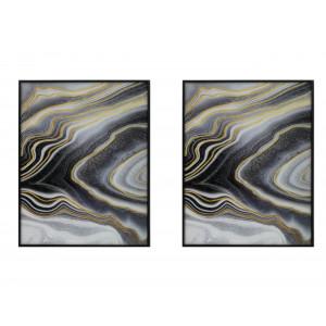 LT-17070605AB Set Of 2 Framed Wall Art