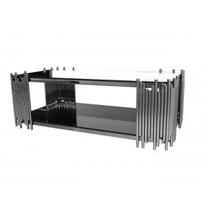 Coco Rectangular Coffee Table Silver