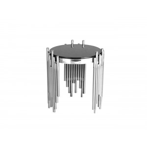 Coco Lamp Table Silver