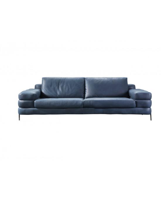 Maldini 2 Div Couch - Blue