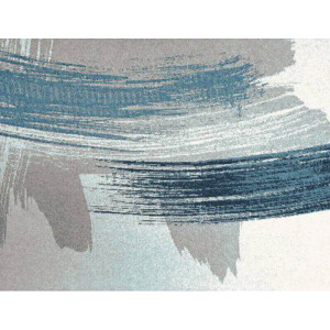 Supersoft Rug White/Blue 200cm x 290cm