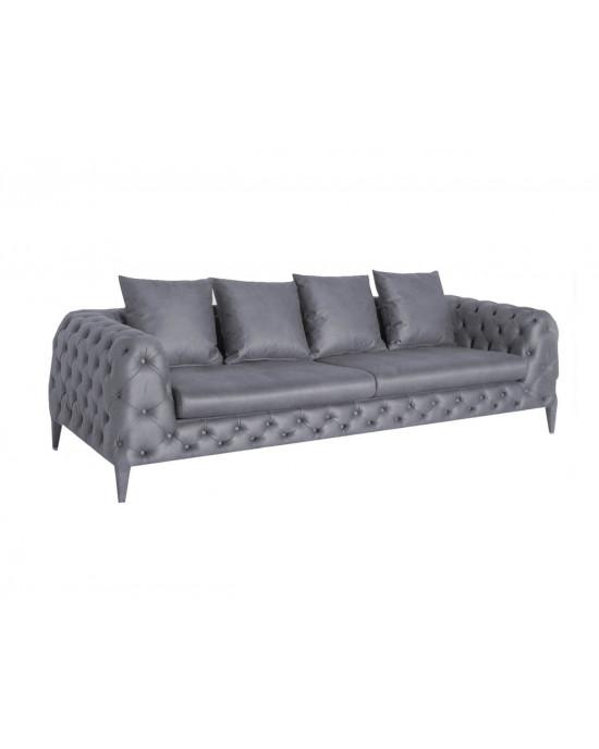 Vivaldi 3 Seater Grey